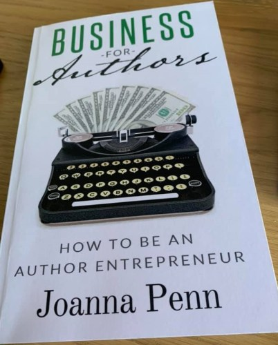 A to Z challenge J is for Joanna Penn