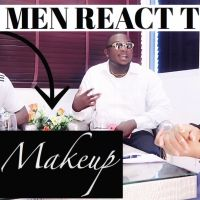Men's REACTION TO LADIES MAKEUP | DO Guys LIKE GIRLS WITH MAKEUP OR NATURAL BEAUTY ? Sharonchy