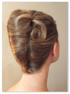 Hairstyling Updos Chignons Hairstyling Fashion Forward