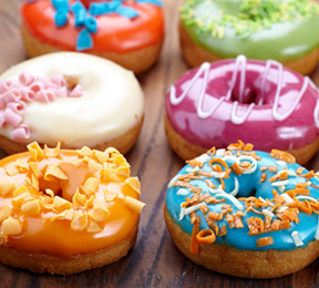 Donuts with trans fats