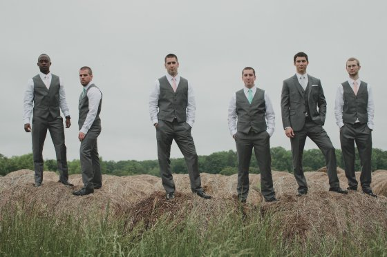 Jonathan with his Groomsmen