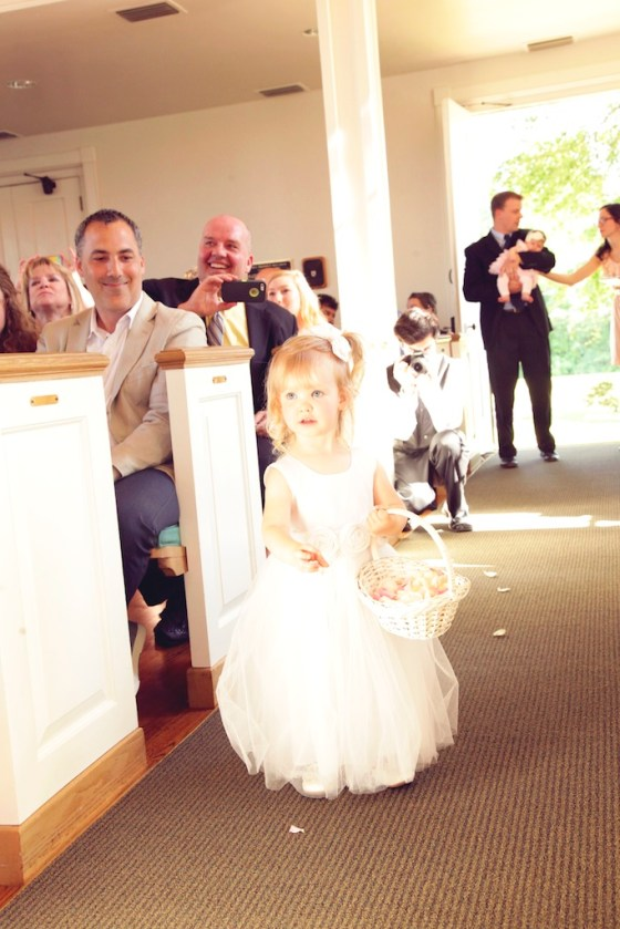 Adorable flower girl-Miss Felicity