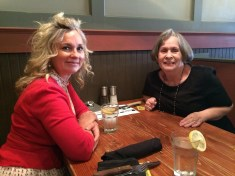 Mom and me at lunch this past week- Thank You Lord