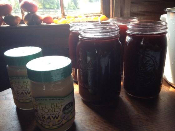 Only use RAW HONEY- never heated. Not liquid honey