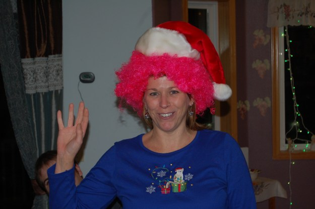 Winning Gag Gift: Pink Wig from France