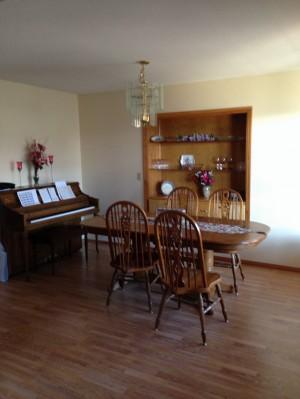 Dining Room as a blank slate