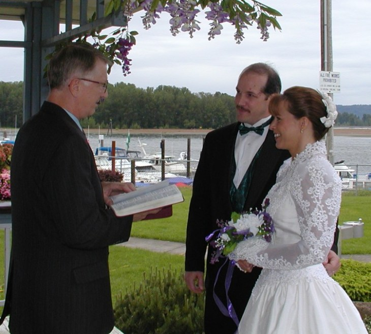 Renewing our vows - May 2001