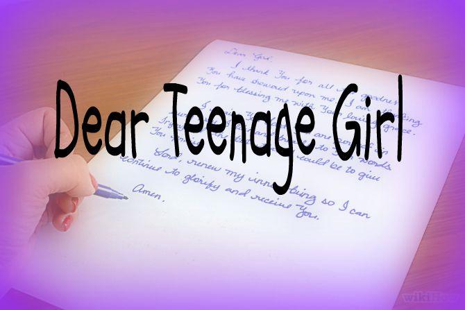 Dear Teenage Girl