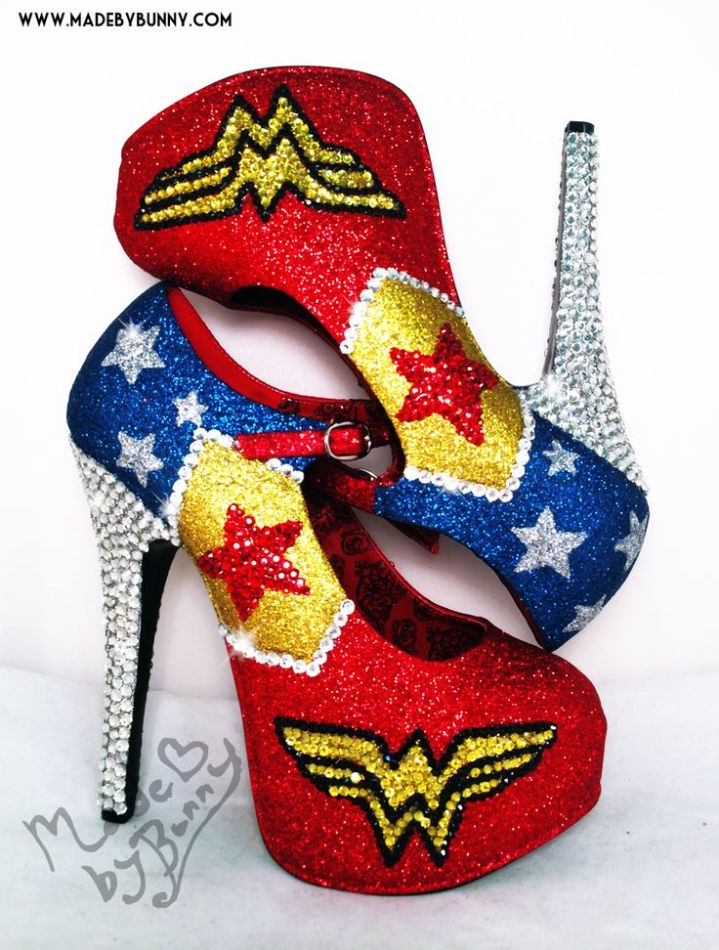 These amazing sparkly shoes prove the point