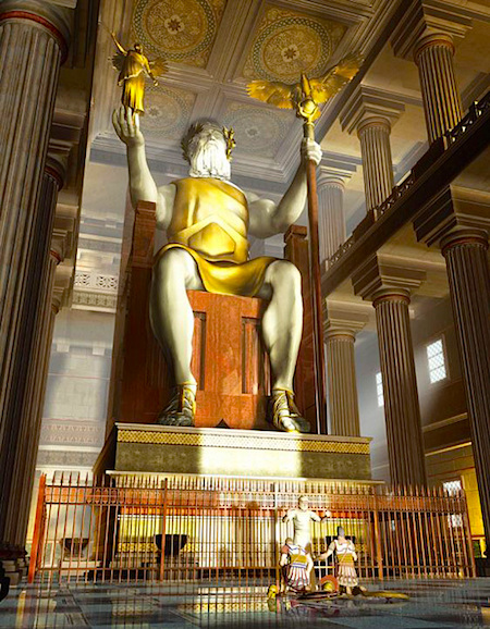 Statue-of-Zeus-at-Olympia