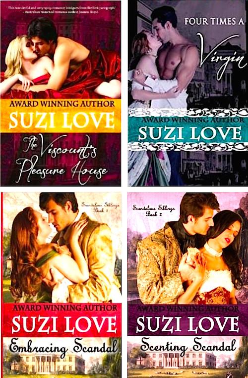 SuziLove novels