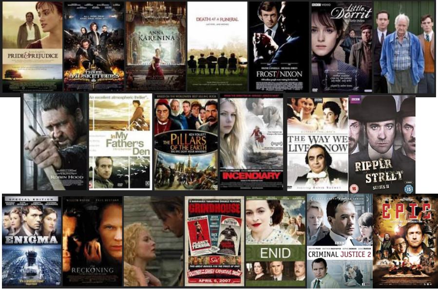 Macfadyen filmography