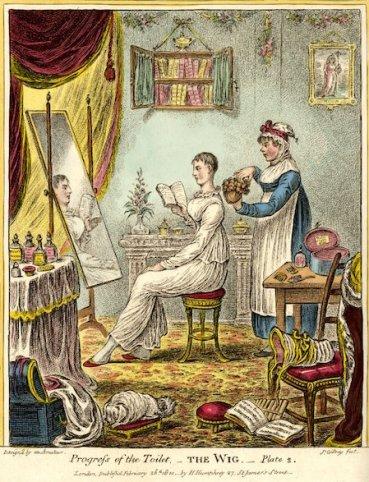 1810 progress toilet wig original