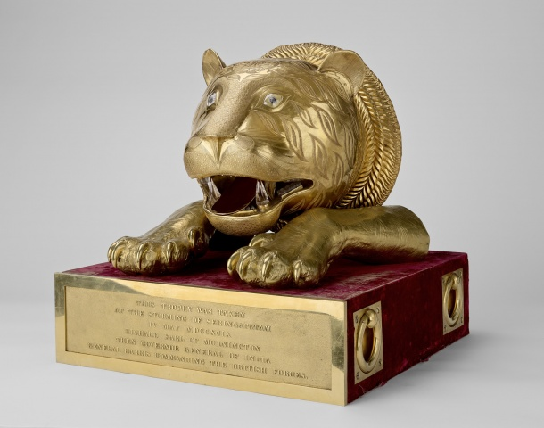 Tipu tiger throne