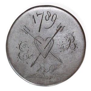 "Georgian Era Coin ""Love Tokens"""