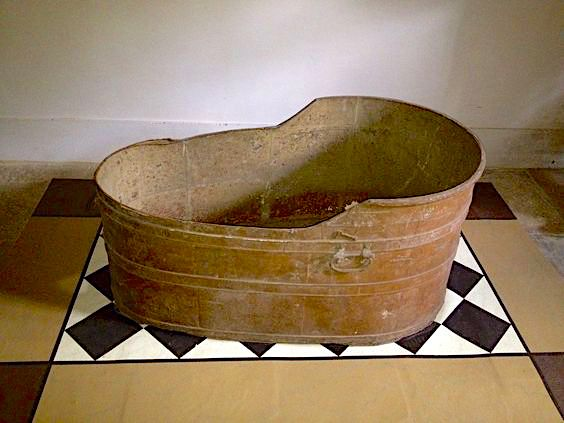 bathtub George III at Kew Palace