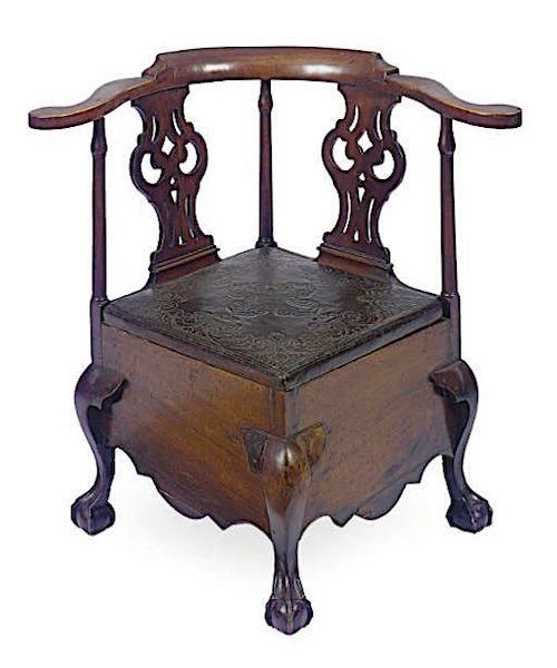 commode chair corner