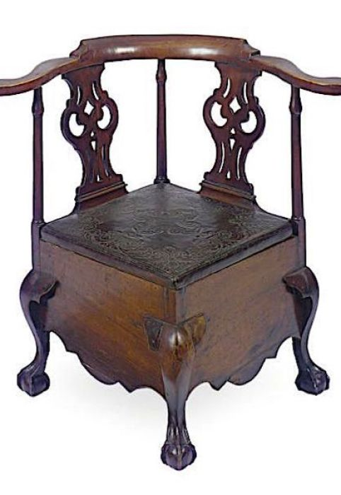 commode chair corner