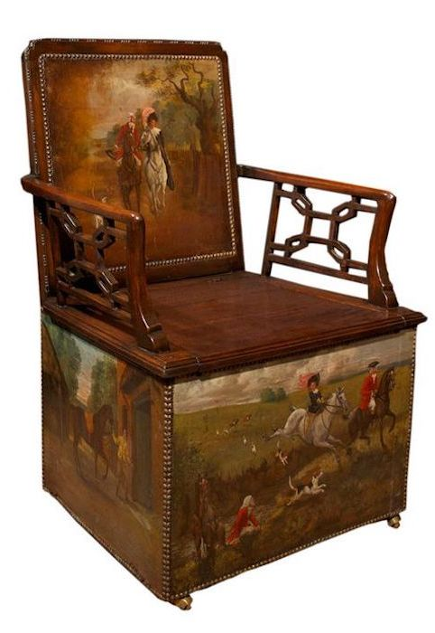 hunt chair 18thc