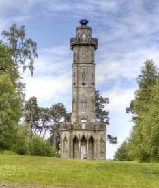 Brizlee Tower in Alnwick, Northumberland, 1781