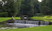 Fountains Abbey and Studley Royal cascade