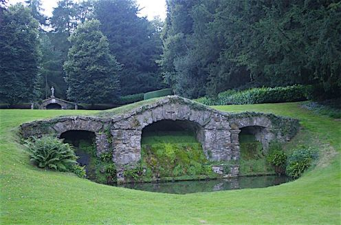 Rousham House grotto, 1737