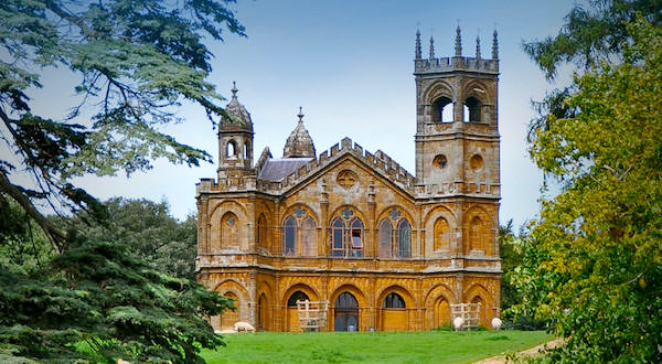 Gothic Temple, Stowe1741