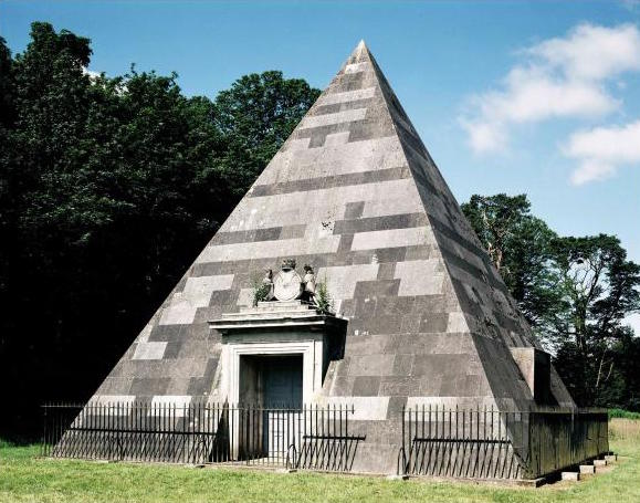 Hobart Pyramid in Blickling Park is also a mausoleum.