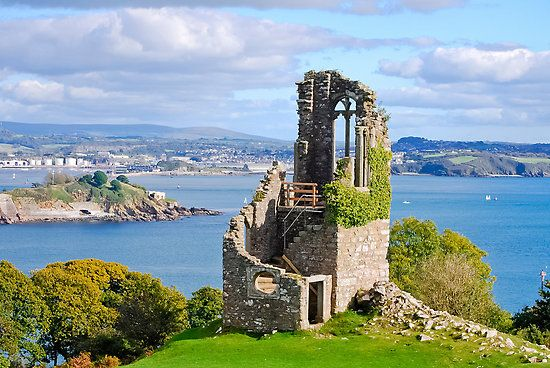 Mount Edgcumbe Estate at Torpoint in Cornwall.