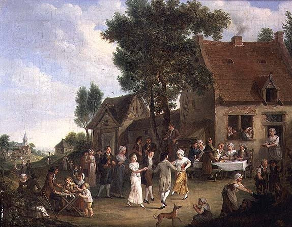A Village Wedding - Leonard Defrance