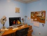 My desk and iMac. Where the magic happens!