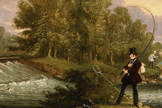 Fishing at Pemberley in P&P: Vital Plot Device or Unimportant Side Point?