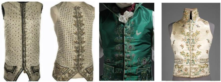 georgian waistcoats