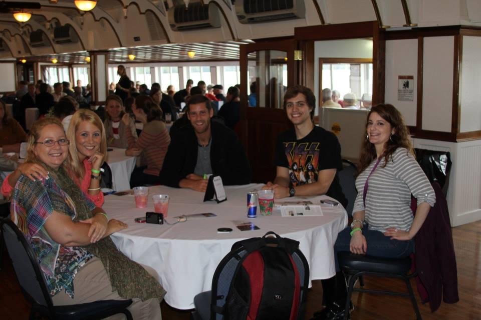 Sharon, Emily, Neil, Kyle, & Neil's sister Leslie