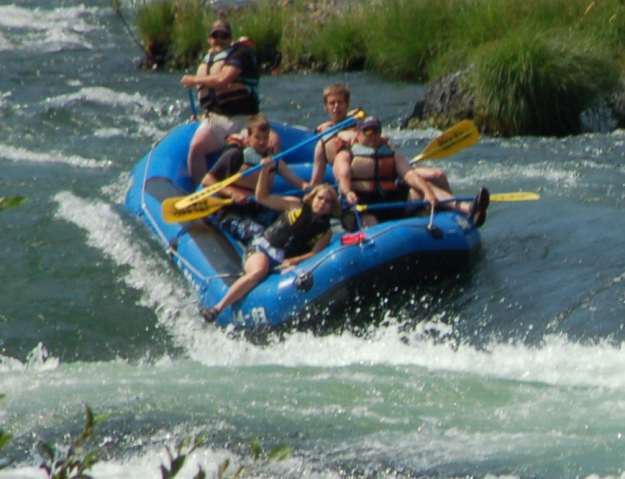 Rafting the Deschutes - not this summer