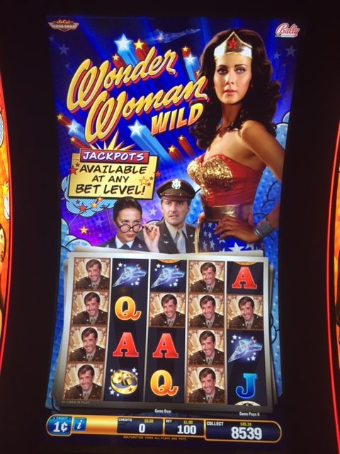 Wonder Woman Wild? I don't think they want to see that