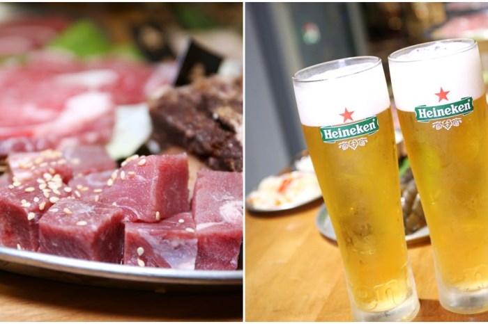 胖肉爺燒肉 在貨櫃工業風裡大口吃肉大杯暢飲更有樂趣 台中平價燒肉店推薦