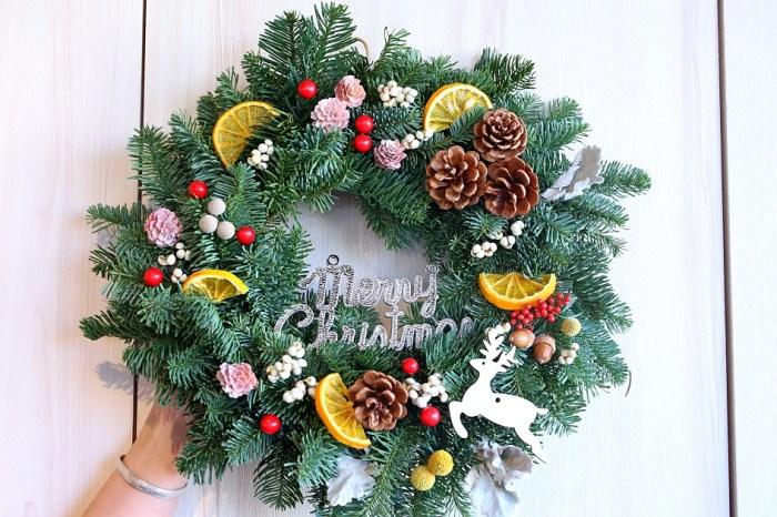 聖誕花圈怎麼做?諾貝松聖誔花圈DIY 步驟大解密 讓聖誕節更有氣氛