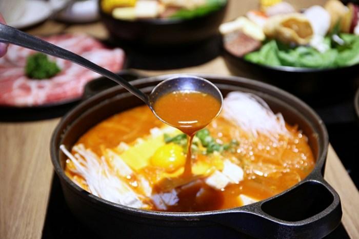 萬客什鍋 美村店獨賣辣豆腐鍋 滿滿韓風夏天吃超開胃