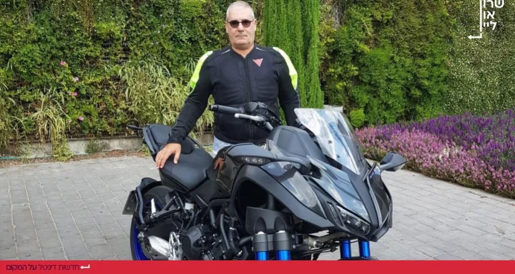שמוליק אלבוחר והאופנוע