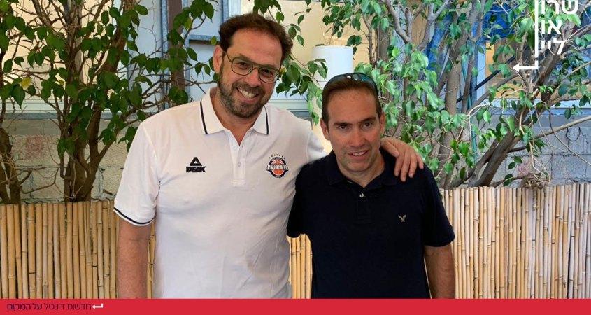 אלדד אקוניס ושרון דרוקר - בני הרצליה כדורסל