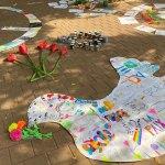 פעילות בבית ספר נוף ים ליום הזיכרון לרצח רבין
