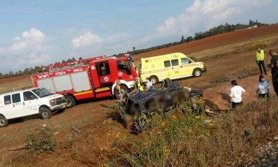 תאונה בין רכב לרכבת באזור שפיים 03.11.2020