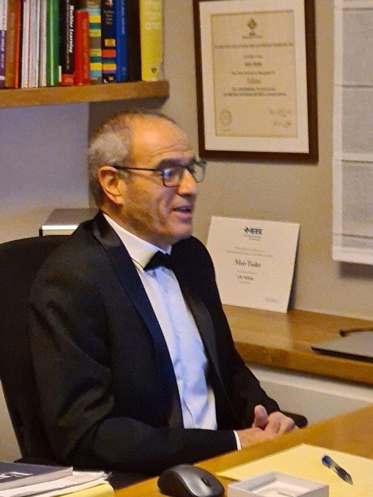 פרופסור מאיר פדר מהרצליה, זוכה האוסקר על פיתוח טכנולוגי