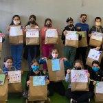 תלמידי בית ספר בן צבי הרצליה, משלוחים לחיילים בודדים
