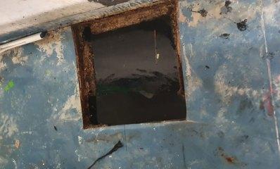 בור ספיגה פעור במקלט בהרצליה