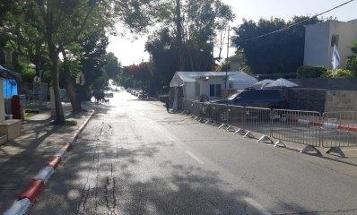 רחוב ציפמן וביתו של בנט. ייסגר בחלקו