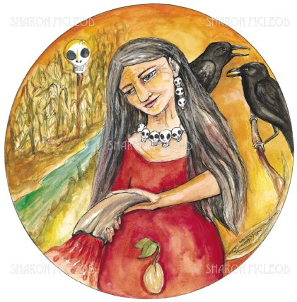 Akka is an Earth Mother Goddess who rules over fertility and nature.
