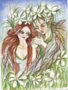 The wedding Flower Faeries