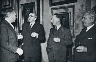 Herman Gurlitt, Hitler's art dealer. In 2012, 1,500 peices of art from his collection was found in Germany, in his son's apartment.